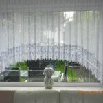 Wunderschne Blumenfenster C Bogenstore 25cm Spitze Voile Gardine Gardinen Für Wohnzimmer Scheibengardinen Küche Die Fenster Schlafzimmer Bogenlampe Esstisch Wohnzimmer Bogen Gardinen