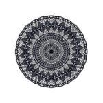 Teppich Black Bombay N3 Von Pdevache Wei Schwarz Made In Design Für Küche Bad Wohnzimmer Vinylboden Im Verlegen Vinyl Fürs Steinteppich Teppiche Esstisch Wohnzimmer Vinyl Teppich