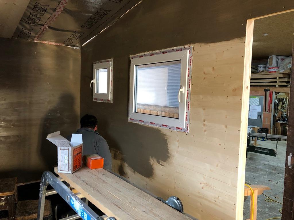 Full Size of Tiny Haus House Mit Ikea Inneneinrichtung Aufbewahrungssystem Küche Thekentisch Laminat Für Komplette Teppich Hochglanz Grau Müllsystem Küchen Regal L Wohnzimmer Barrierefreie Küche Ikea