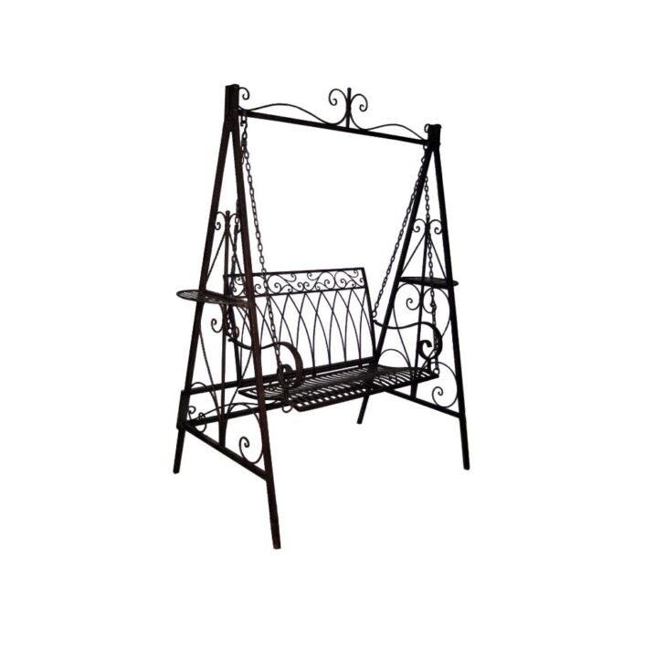 Medium Size of Gartenschaukel Metall Hollywoodschaukel Im Vintagestil Aus Regal Weiß Bett Regale Wohnzimmer Gartenschaukel Metall