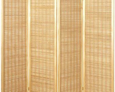 Paravent Bambus Wohnzimmer Paravent Bambus Haku Mbel Massivholz Naturfarben Mit Bambusmatte Hhe Garten Bett