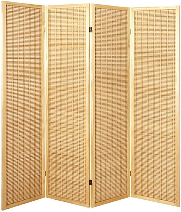 Medium Size of Paravent Bambus Haku Mbel Massivholz Naturfarben Mit Bambusmatte Hhe Garten Bett Wohnzimmer Paravent Bambus