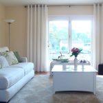 Fensterdekoration Gardinen Beispiele Küche Fenster Scheibengardinen Für Wohnzimmer Die Schlafzimmer Wohnzimmer Fensterdekoration Gardinen Beispiele