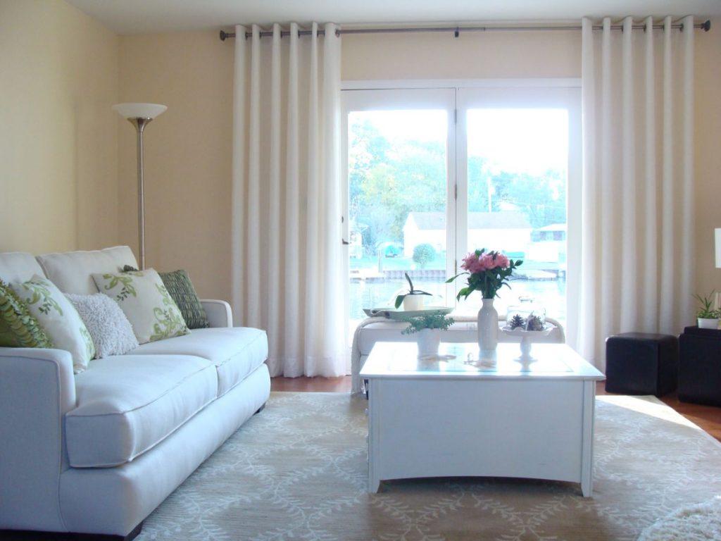 Full Size of Fensterdekoration Gardinen Beispiele Küche Fenster Scheibengardinen Für Wohnzimmer Die Schlafzimmer Wohnzimmer Fensterdekoration Gardinen Beispiele