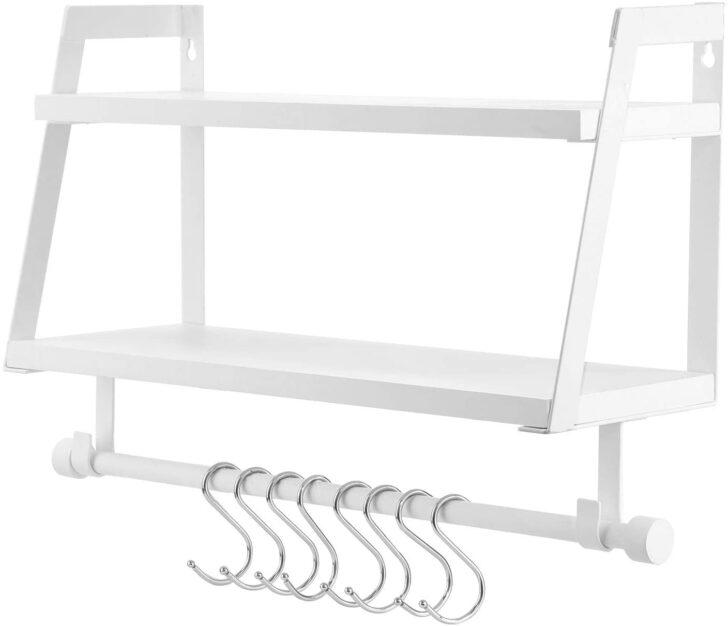 Medium Size of Wandregal Küche Metall Vencipo Holz Fr Organizer Kche Gewrzregal Mit 8 Einbauküche Ohne Kühlschrank Landhausstil Elektrogeräten Günstig Gebrauchte Wohnzimmer Wandregal Küche Metall