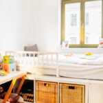 Podestbett Ikea Montessori Kinderzimmer Einrichten Kleinkind 2 3 Jahre The Krauts Modulküche Miniküche Betten Bei Küche Kosten Kaufen Sofa Mit Wohnzimmer Podestbett Ikea