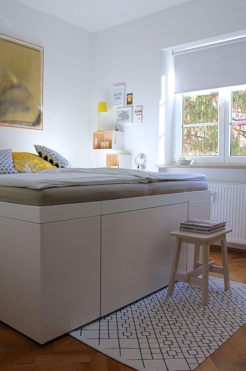 Full Size of Stauraum Bett 120x200 Ikea Betten Selber Bauen Besten Ideen Und Tipps Günstig Kaufen 180x200 Schwarz Ausziehbares 200x200 Köln 140x200 Weiß Trends Baza Wohnzimmer Stauraum Bett 120x200 Ikea