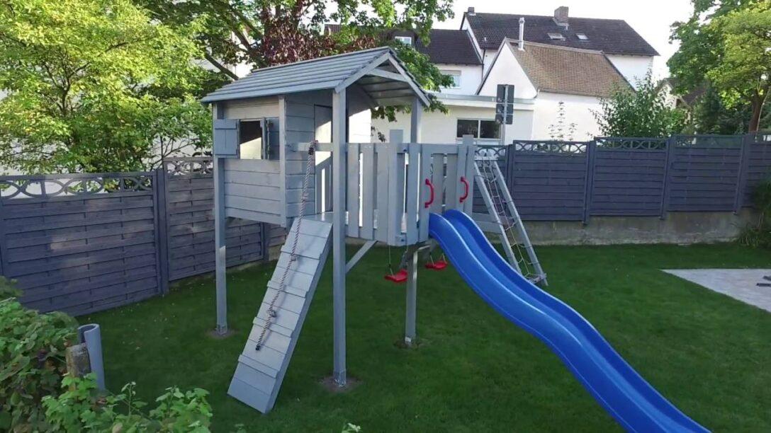 Large Size of Spielturm Bauhaus Terrizio Mini Aufbau Youtube Fenster Garten Kinderspielturm Wohnzimmer Spielturm Bauhaus
