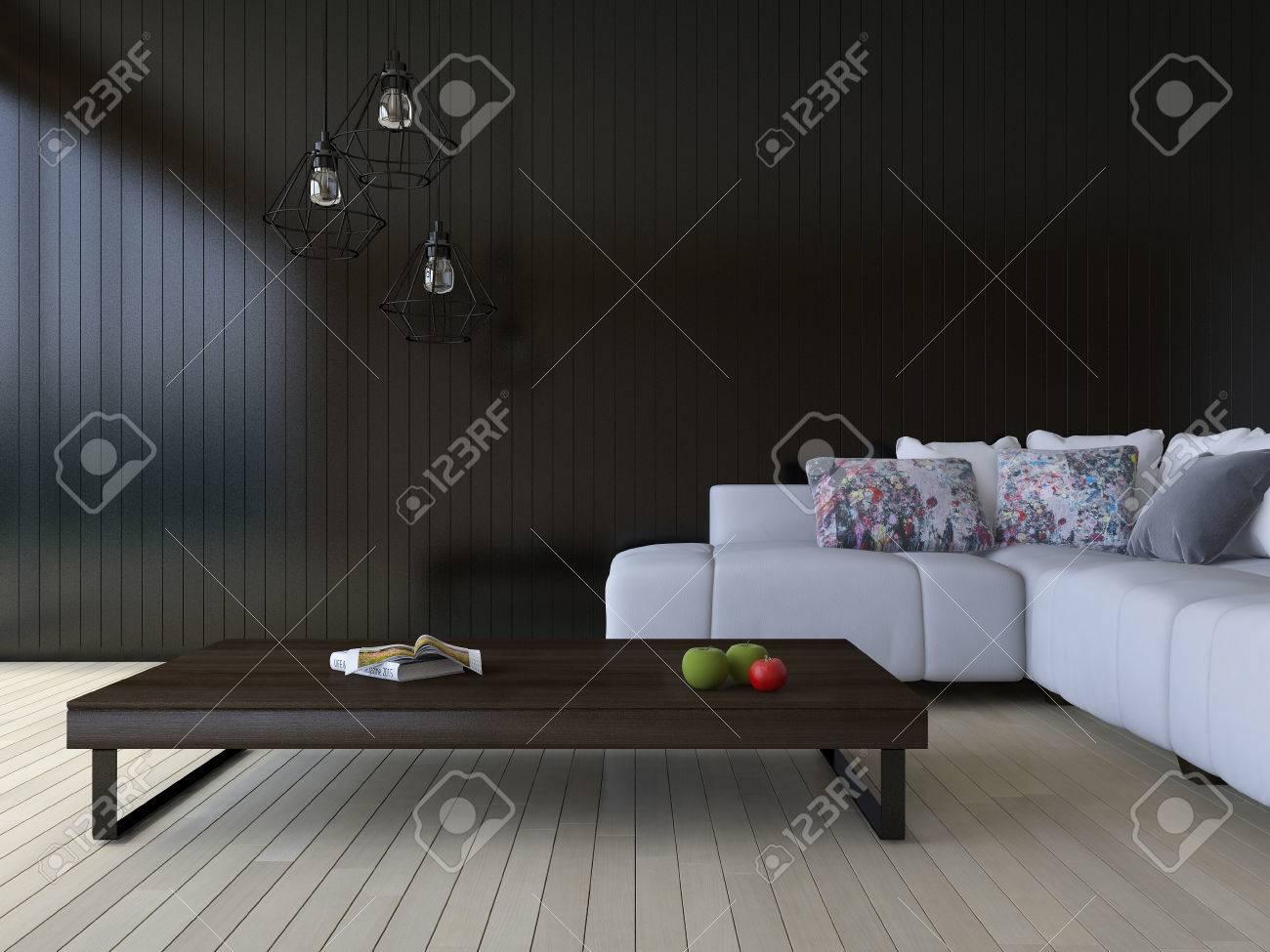 Full Size of 3ds Bild Von Weien Sofa Und Holztisch Platz Auf Fürs Wohnzimmer Bett 180x200 Esstische Landhausküche Duschen Wohnzimmer Moderne Hängelampen