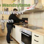 Fliesenspiegel Verkleiden Kchenspiegel Renovieren Mit Planeo Wandpaneele Youtube Küche Selber Machen Glas Wohnzimmer Fliesenspiegel Verkleiden