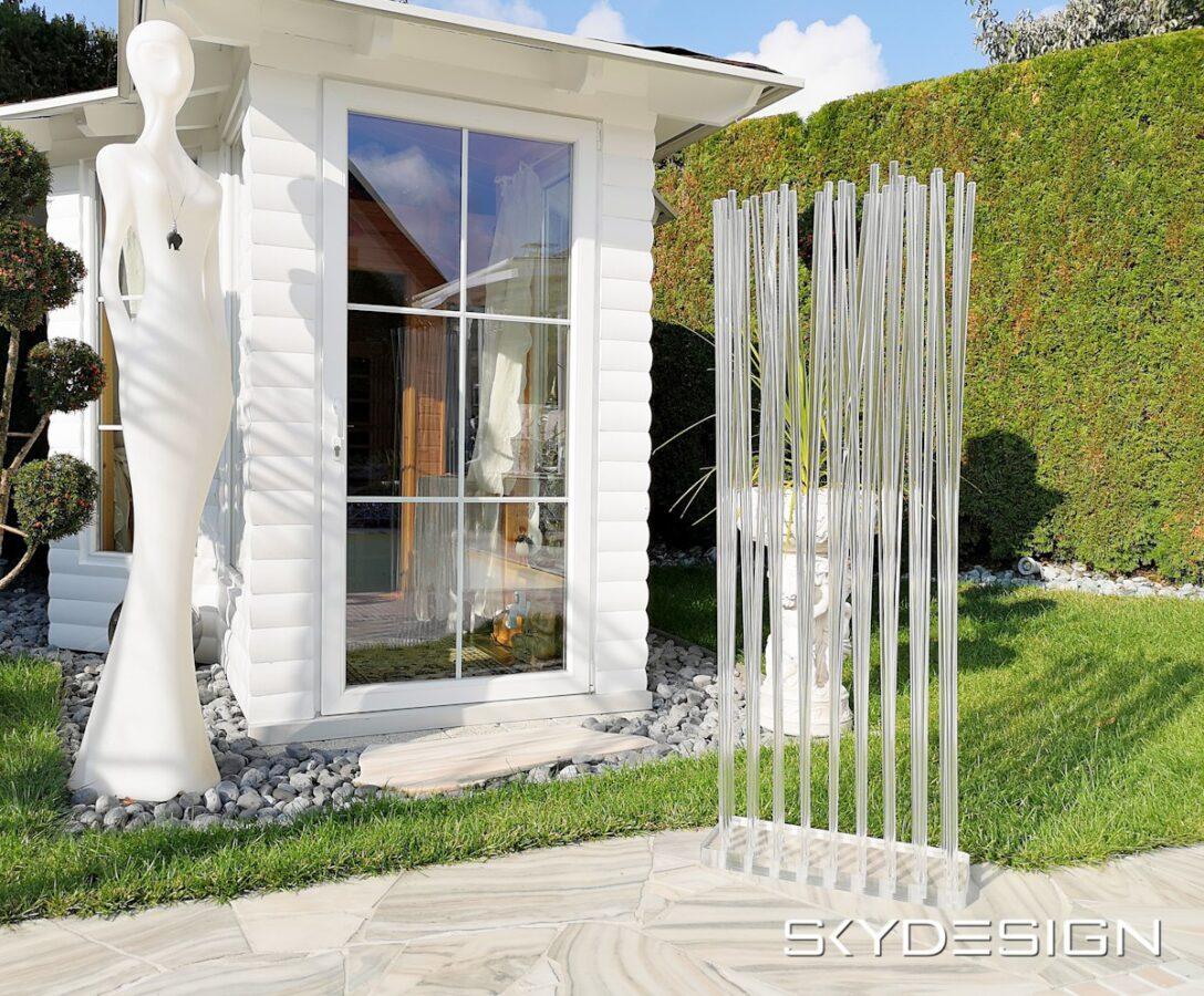 Large Size of Outdoor Paravent Shades Of Venice Anthrazit Ikea Holz Metall 180 Cm Hoch 2m Terrasse Küche Kaufen Edelstahl Garten Wohnzimmer Outdoor Paravent