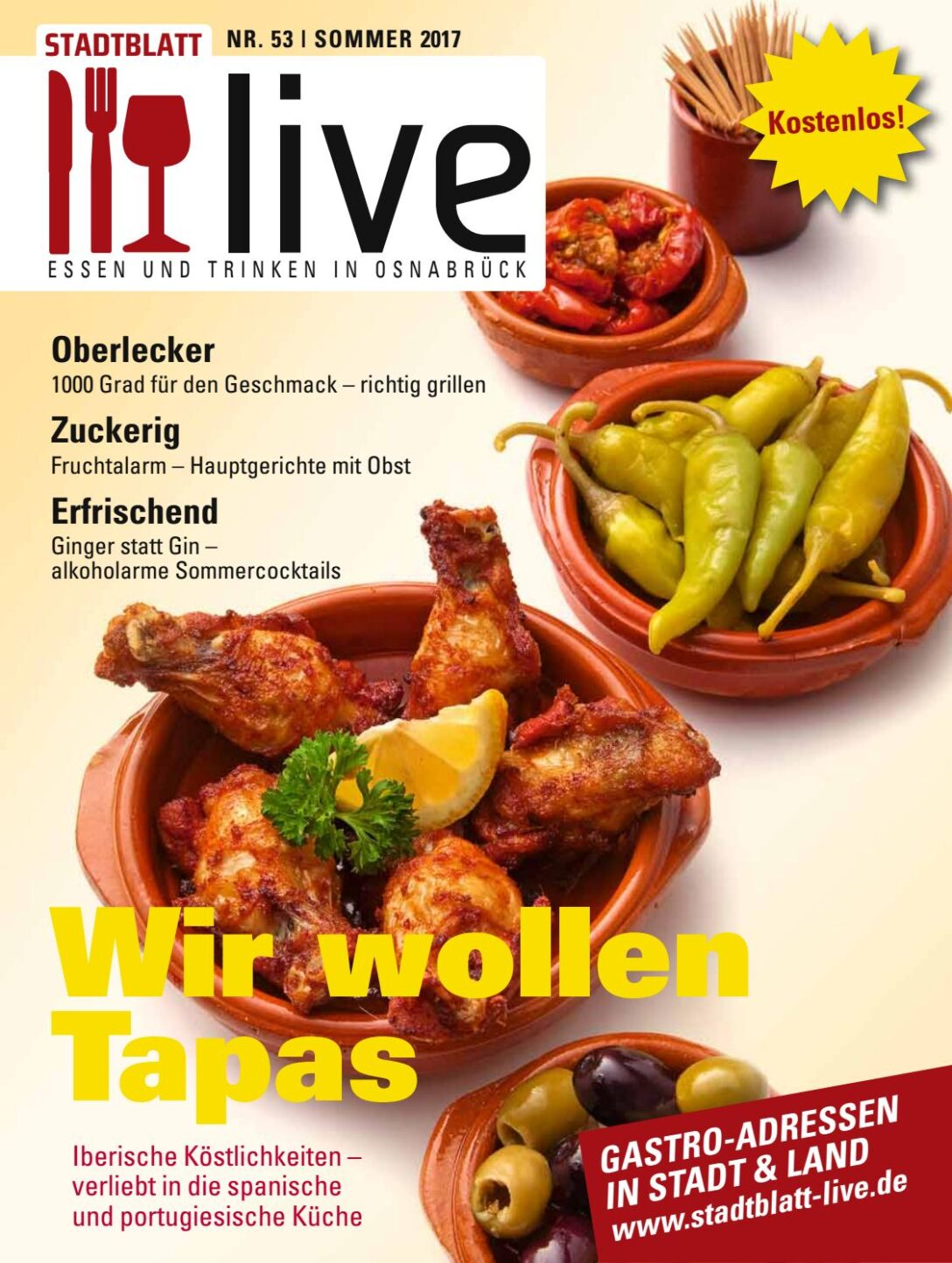 Large Size of Stadtblatt Live Sommer 2017 By Bvw Werbeagentur Midischrank Bad Küche Anthrazit Regal Dachschräge Schranksysteme Schlafzimmer Zwangsbelüftung Fenster Wohnzimmer Hr Leckere Landküche Rezepte