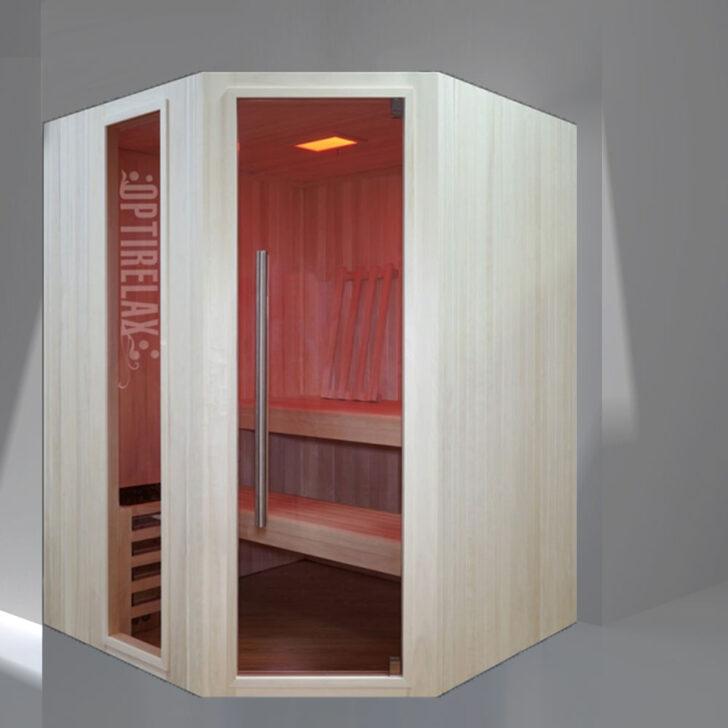 Medium Size of Mini Sauna Mit Ofen Optirelaeasyrelae160 Optirelax Wohnzimmer Außensauna Wandaufbau