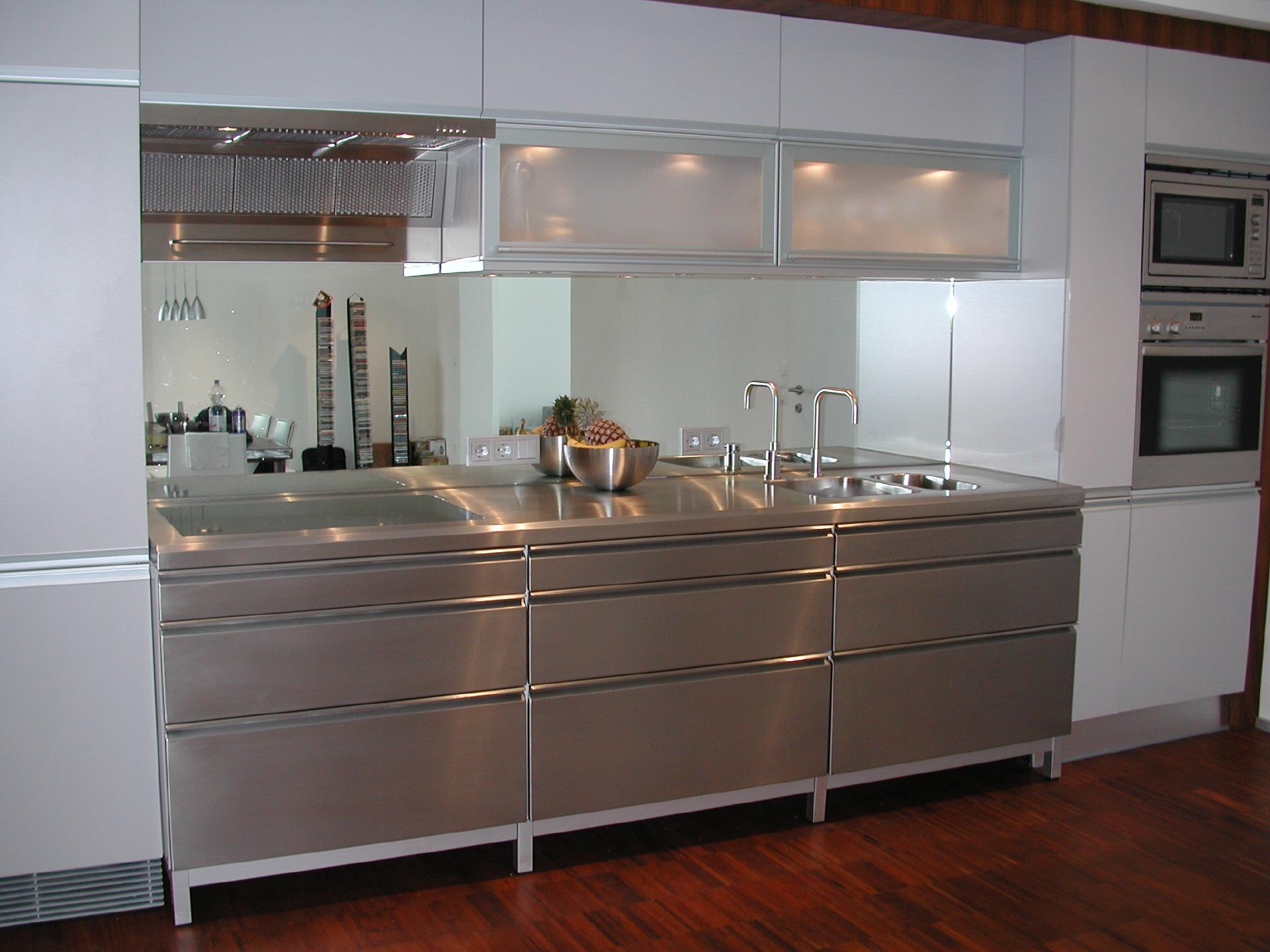 Full Size of Edelstahl Küchen Kchen Edelstahlküche Gebraucht Garten Outdoor Küche Regal Wohnzimmer Edelstahl Küchen