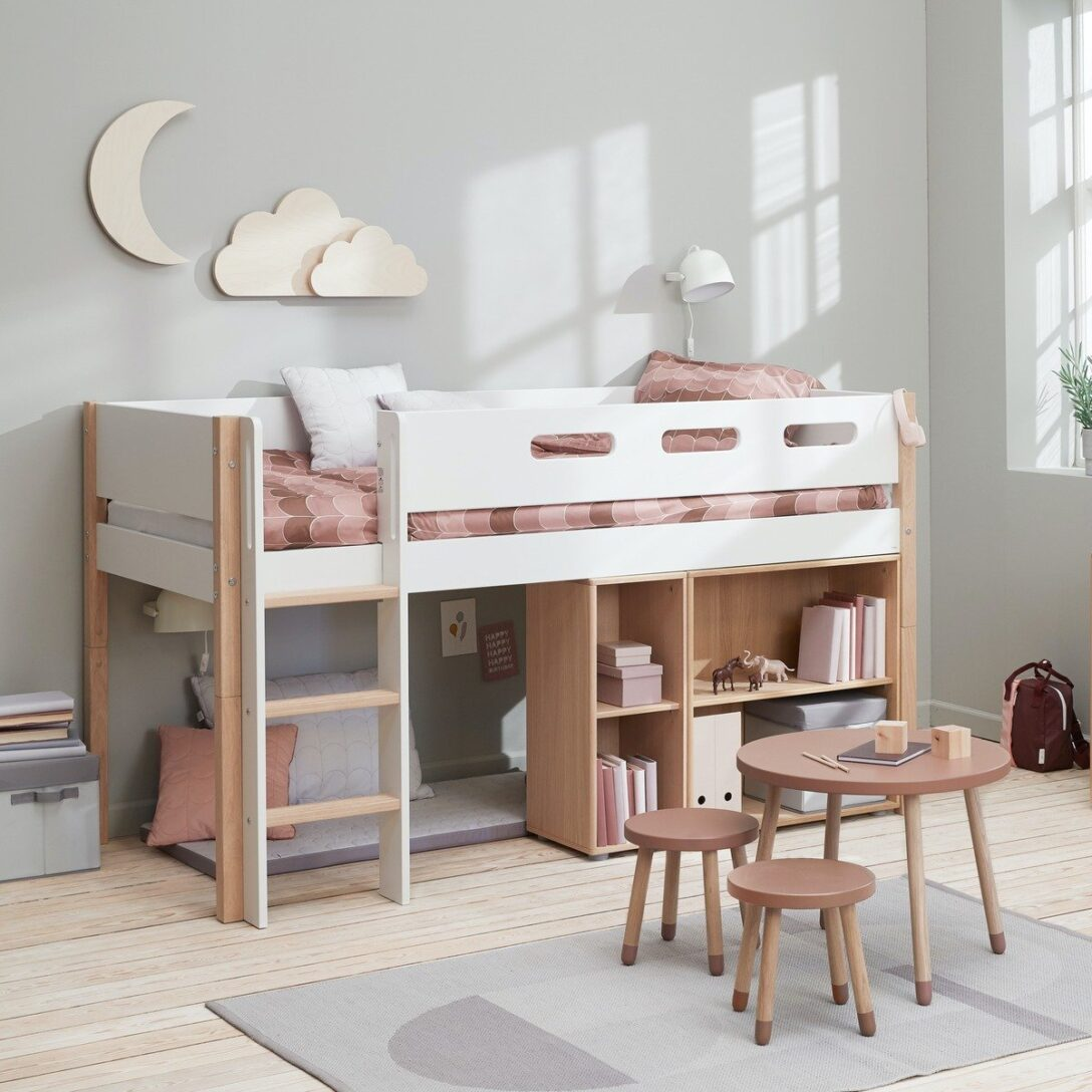 Large Size of Halbhohes Bett Wohnzimmer Halbhohes Hochbett