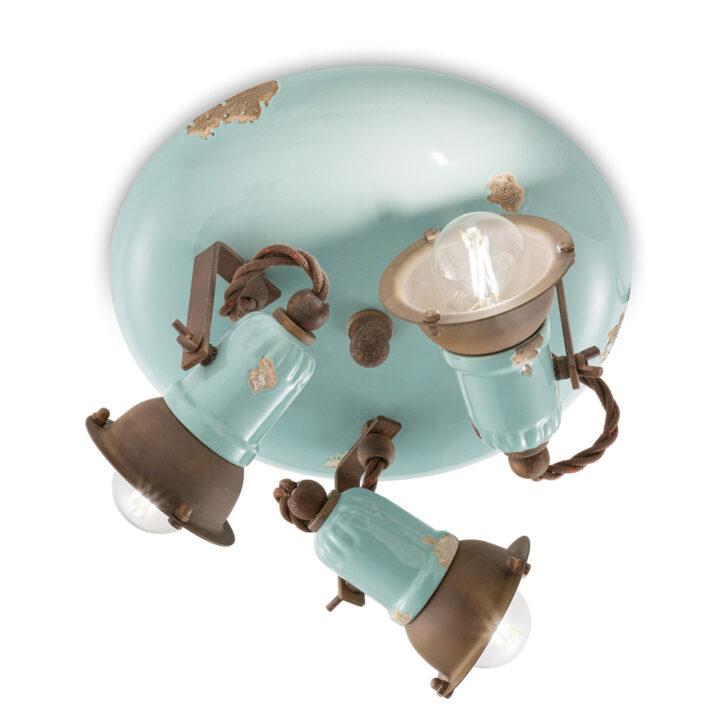Medium Size of Deckenlampe Industrial Design Deckenleuchte 3 Strahler Im Style Allison Ferroluce Wohnzimmer Esstisch Deckenlampen Für Modern Schlafzimmer Bad Küche Wohnzimmer Deckenlampe Industrial