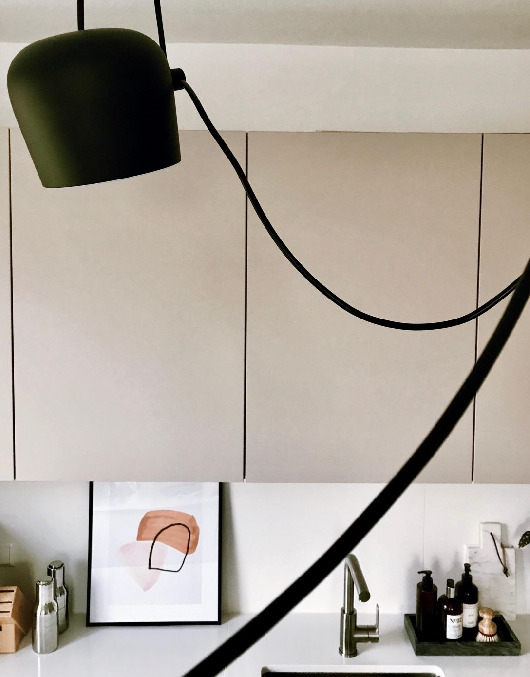 Large Size of Küche Anthrazit Müllsystem Laminat Fürs Bad Tapete Modern Eckschrank Spiegelschrank Für Alarmanlagen Fenster Und Türen Was Kostet Eine Winkel Wohnzimmer Lampen Für Küche