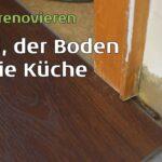 Küche Boden Thema Kchenboden Ich Renoviere Meine Kche Hängeschrank Glastüren Betonoptik Apothekerschrank Hochglanz L Form Aufbewahrung Sitzgruppe Wohnzimmer Küche Boden