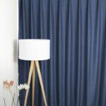 Verdunkelungs Vorhang London Blau Vorhänge Schlafzimmer Wohnzimmer Küche Wohnzimmer Vorhänge