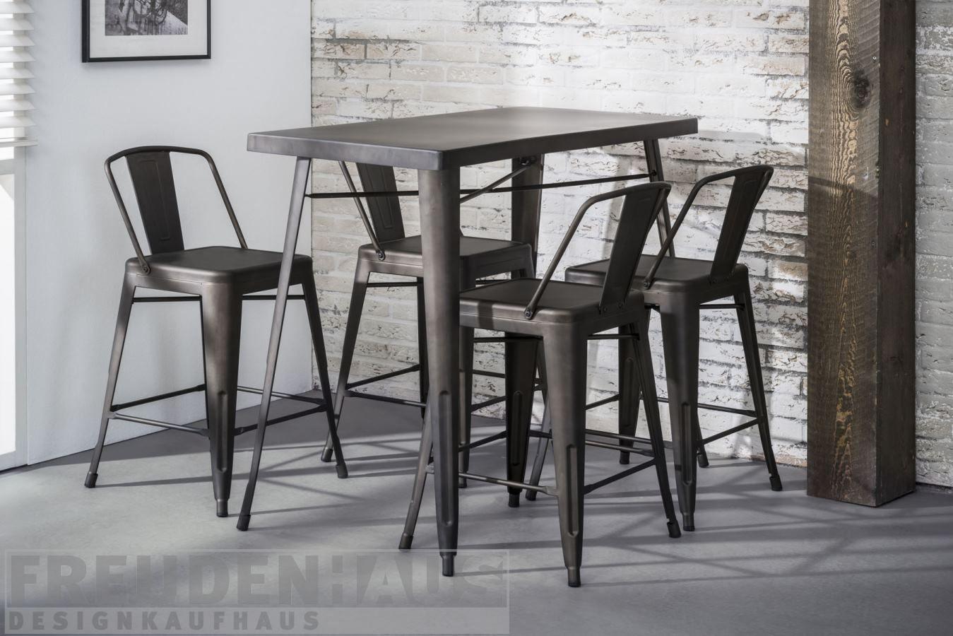 Full Size of Bartisch Set Bistro Metall Industrial Stehtisch 120x60 4 Küchen Regal Küche Wohnzimmer Küchen Bartisch