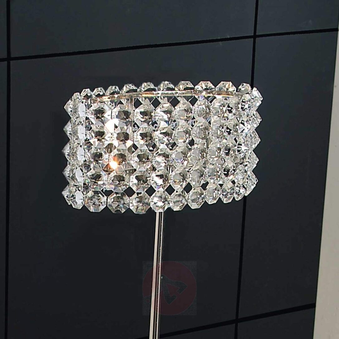 Large Size of Kristall Stehlampe Baccarat Edle Stehleuchte Stehlampen Wohnzimmer Schlafzimmer Wohnzimmer Kristall Stehlampe