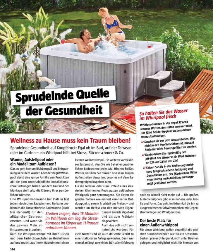 Medium Size of Whirlpool Bauhaus Aufblasbar Intex Outdoor Garten Deutschland Miami Family Badewanne Angebot Lay Z Spa Aussen Aktueller Prospekt 0410 31012020 144 Jedewoche Wohnzimmer Whirlpool Bauhaus
