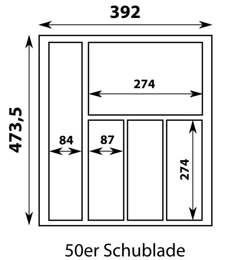 Medium Size of Gewürze Schubladeneinsatz Besteckeinsatz 50er Schublade Move In Edelstahloptik Mae Bxt Küche Wohnzimmer Gewürze Schubladeneinsatz