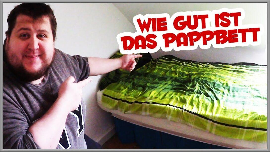 Large Size of Ikea Pappbett Wie Gut Ist Das Bett Aus Pappe Youtube Betten 160x200 Bei Sofa Mit Schlaffunktion Küche Kosten Modulküche Miniküche Kaufen Wohnzimmer Pappbett Ikea