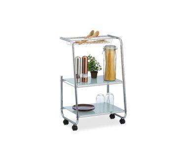 Rollwagen Schmal Wohnzimmer Rollwagen Schmal Metall Mit Glas Ablagen Küche Bad Regal Schmales Schmale Regale