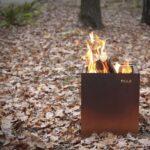 Holzlege Cortenstahl Garten Feuerkorb Holz S35 Tole The Outdoor Living Experience Wohnzimmer Holzlege Cortenstahl