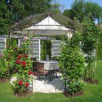 Pavillon Eisen Wohnzimmer Garten Pavillon