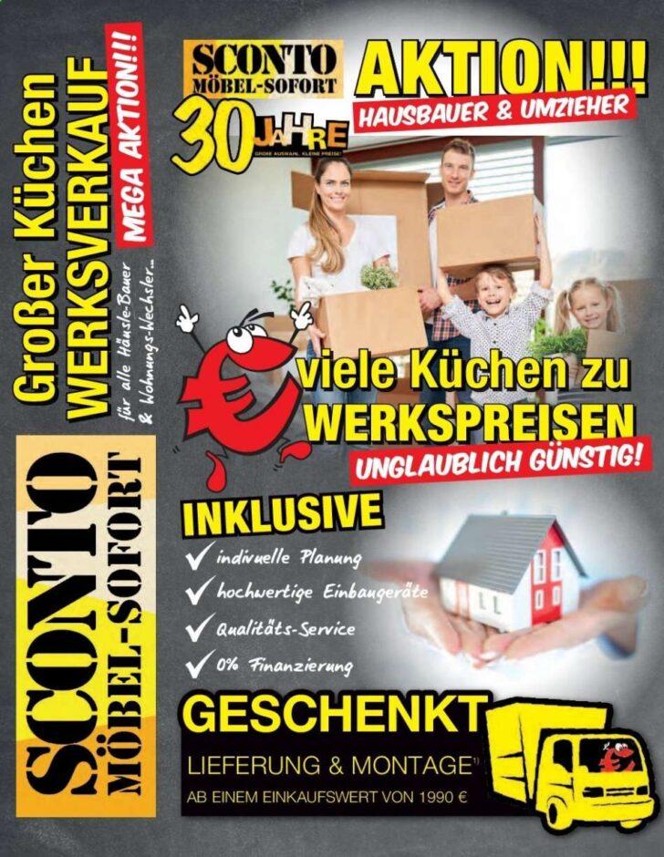 Medium Size of Sconto Küchen Aktuelles Prospekt 1722020 2422020 Rabatt Kompass Regal Wohnzimmer Sconto Küchen