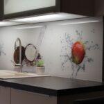 Küchen Fliesenspiegel Wohnzimmer Küchen Fliesenspiegel Nischenrckwnde Wohnkultur Mugler Regal Küche Selber Machen Glas