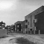 Siedlung Italienischer Garten Architektur Celle Liegestuhl Fenster Wohnzimmer Bauhaus Liegestuhl