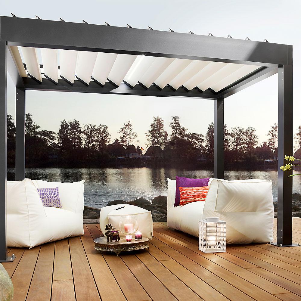 Full Size of Terrassen Pavillon Alu Metall Terrasse Bauhaus Wasserdicht Kaufen Winterfest Obi Aluminium Pavillons Glaserei Laugesen Garten Wohnzimmer Terrassen Pavillon