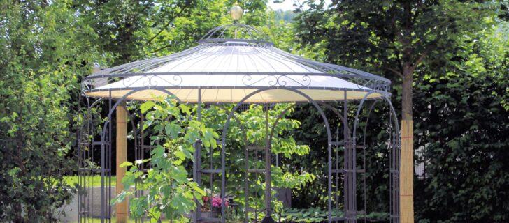 Medium Size of Pavillon Eisen Gartenlauben In Edlem Design Online Kaufen Bei Eleo Garten Wohnzimmer Pavillon Eisen