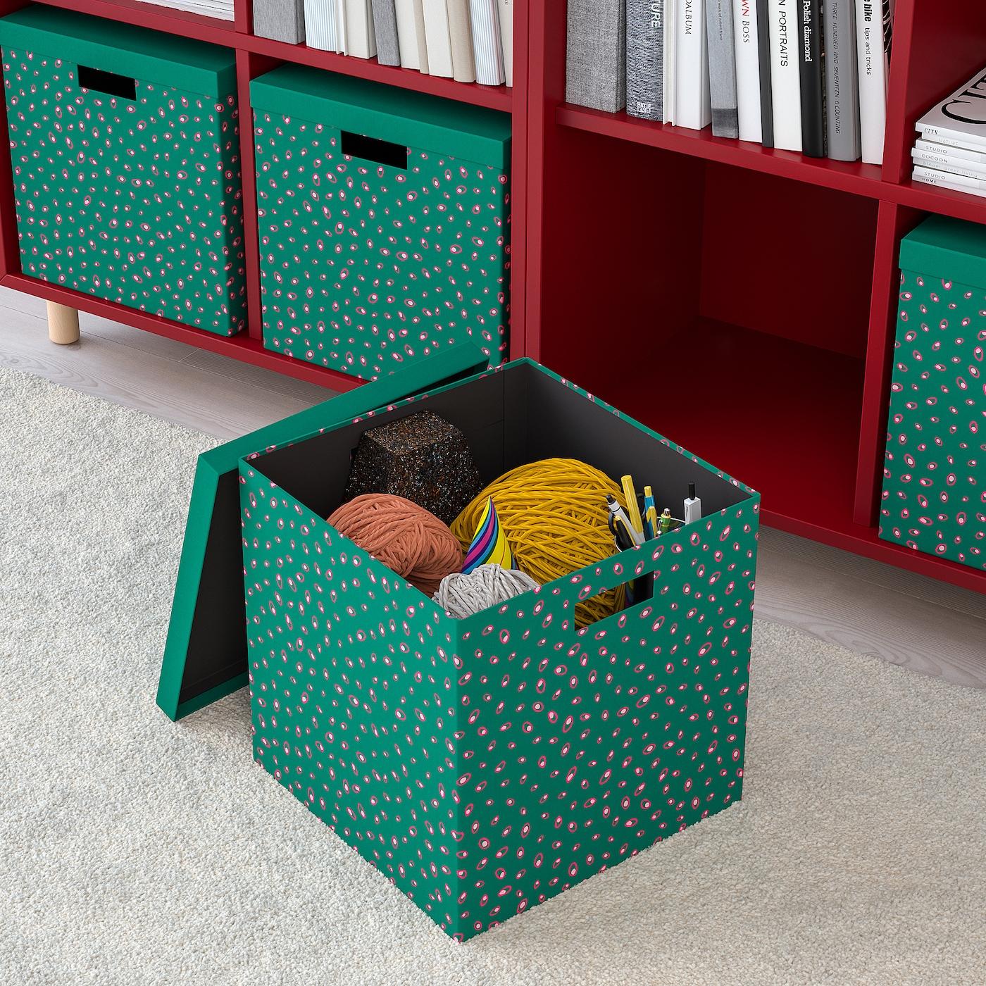 Full Size of Comodulkche Tjena Kasten Mit Deckel Grn Punkte Ikea Modulküche Holz Wohnzimmer Modulküche Cocoon