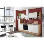 Hängeregal Kücheninsel Respekta Kchenzeile 250 Cm Wei Wildeiche Nachbildung Glnzend Küche Wohnzimmer Hängeregal Kücheninsel