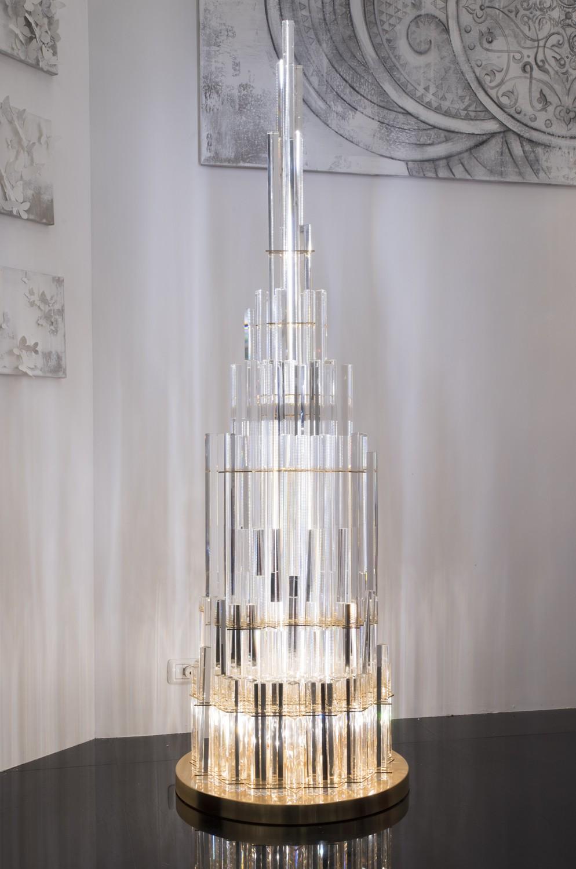 Full Size of Kristall Stehlampe Cristalli 5004 Lt Aus Murano Artital Lighting Wohnzimmer Schlafzimmer Stehlampen Wohnzimmer Kristall Stehlampe