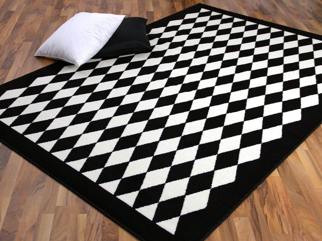 Large Size of Teppich Schwarz Weiß 12 Wei Frisch Wohnzimmer Teppiche Bett 120x200 Big Sofa Regale Küche Matt Bad Hängeschrank Hochglanz Hochschrank Schlafzimmer Komplett Wohnzimmer Teppich Schwarz Weiß