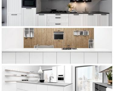 Weisse Küche Modern Wohnzimmer 3 Weie Kchen Mit Unterschiedlichem Stil Landhaus Abfalleimer Küche Holzküche Rolladenschrank Gebrauchte Unterschrank Eiche Aufbewahrung Kleiner Tisch
