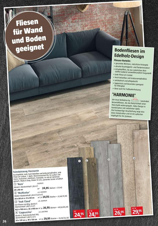 Full Size of Bodenfliesen Bauhaus Prospekt 622020 2922020 Rabatt Kompass Küche Bad Fenster Wohnzimmer Bodenfliesen Bauhaus