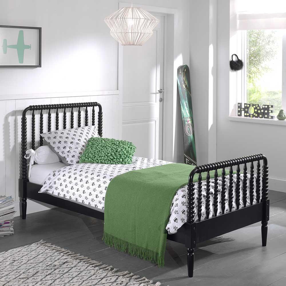 Full Size of Schwarzes Bett Poco Im Retro Design Pharao24de 140x200 Betten Küche Big Sofa Schlafzimmer Komplett Wohnzimmer Kinderbett Poco