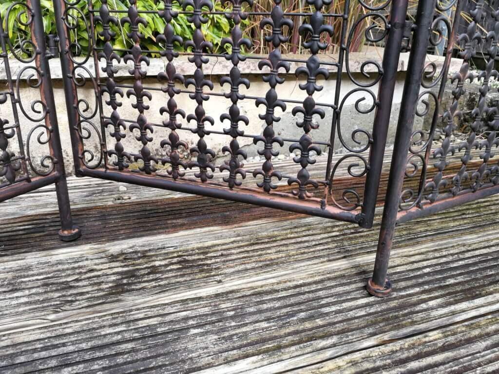 Full Size of Paravent Outdoor Metall Avis Angels Garden Dekoshop Regale Garten Bett Regal Küche Kaufen Weiß Edelstahl Wohnzimmer Paravent Outdoor Metall