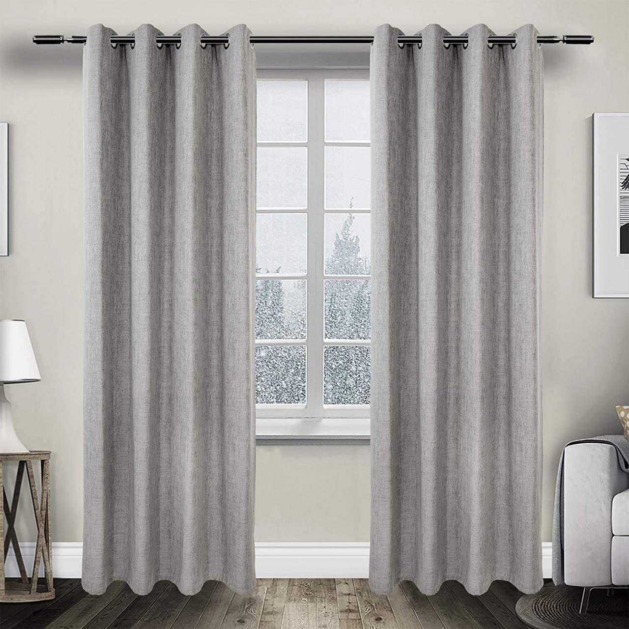 Full Size of Vorhang Gardinen Blickdicht Sen Jacquard Mit Muster Vorhänge Wohnzimmer Schlafzimmer Küche Wohnzimmer Vorhänge