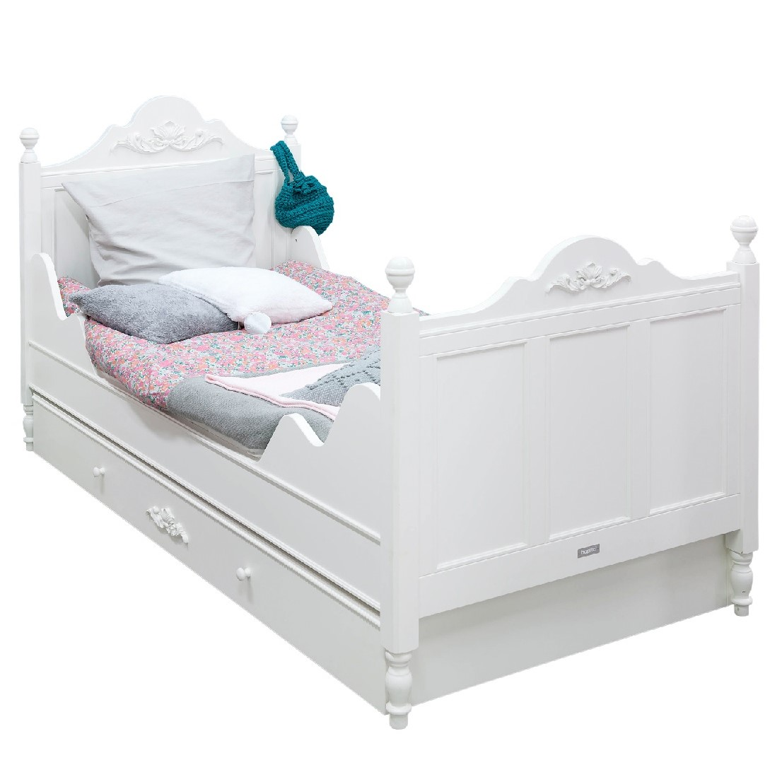 Full Size of Bopita Bettschublade Belle Romantic Gstebett Schublade Wei Bett Wohnzimmer Bopita Bettschublade