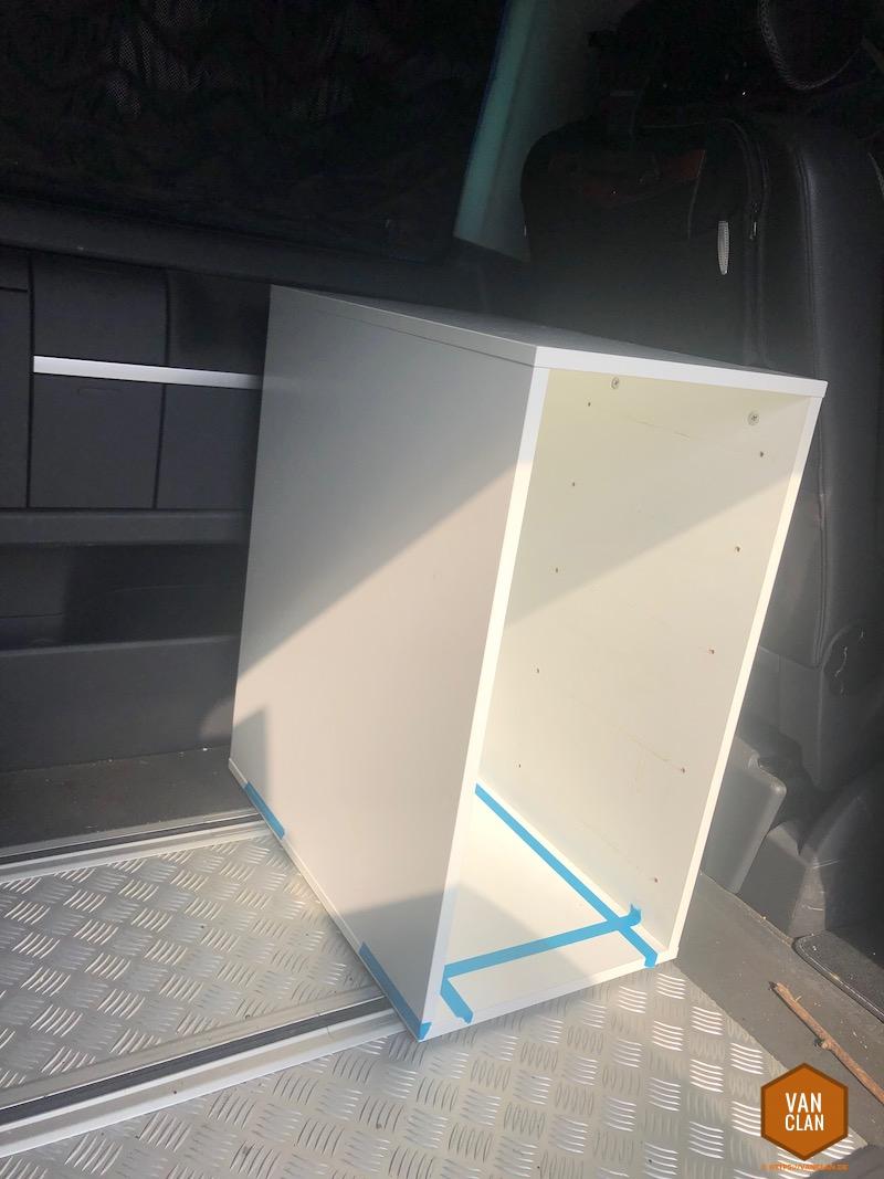 Full Size of Mobile Küche Ikea Kchenblock Im Schienensystem Des Vw Bus T5 T6 Auf Basis Von Alno Industriedesign Eckschrank Kosten Glasbilder Sprüche Für Die Pentryküche Wohnzimmer Mobile Küche Ikea