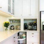 Küchenkarussell Den Eckschrank Der Kche Komfortabel Gestalten 20 Ideen Wohnzimmer Küchenkarussell