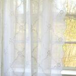 Landhaus Gardinen Küche Wei Schal Chiara Bestickt 200x300 Cm Vorratsdosen Holz Modern Landhausküche Inselküche Abverkauf Umziehen Mintgrün Deko Für Wohnzimmer Landhaus Gardinen Küche