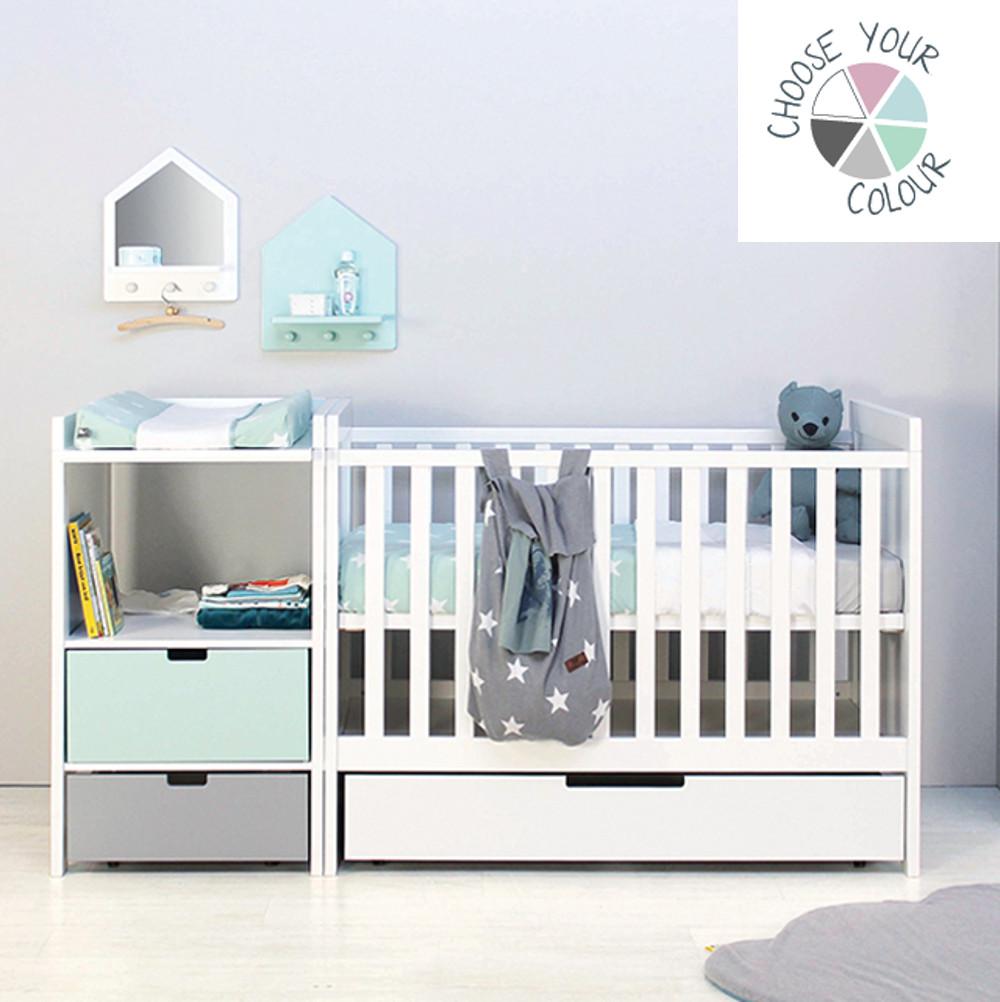Full Size of Bopita Belle Bettschublade Hochbett Mit 3 Betten Babybett Kombi Bett Babyflex Wohnzimmer Bopita Bettschublade
